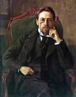 Chekhov 1898 by Osip Braz
